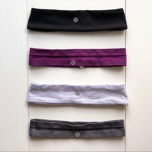 Lululemon Headband Set of 4